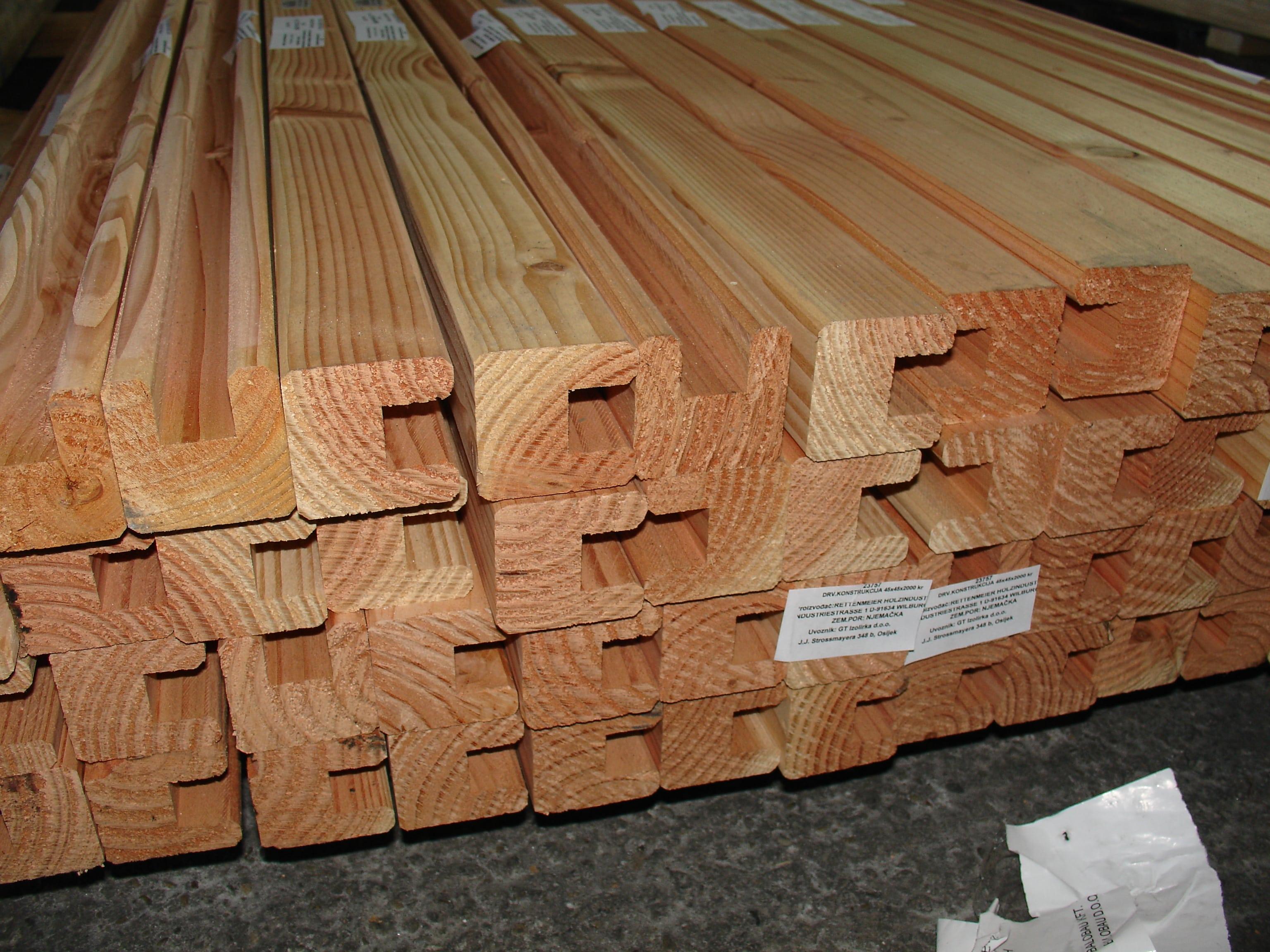 drvena konstrukcija xx kreativ dougl drvene terase drvena konstrukcija 45x45x2000 kreativ dougl